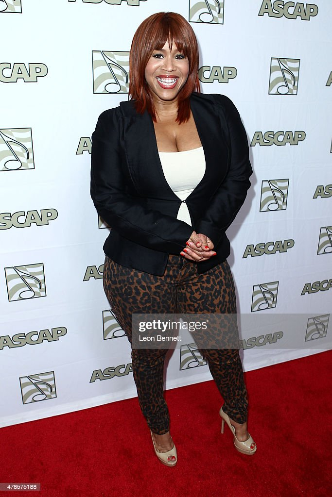 Music artist Tina Campbell of Mary Mary arrived at the 28th Annual ASCAP Rhythm And Soul Music Awards - Arrivals at the Beverly Wilshire Four Seasons Hotel on June 25, 2015 in Beverly Hills, California.