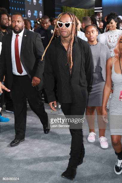 Music artist Ty Dolla $ign arrives at the 2017 BET Awards at Microsoft Theater on June 25 2017 in Los Angeles California