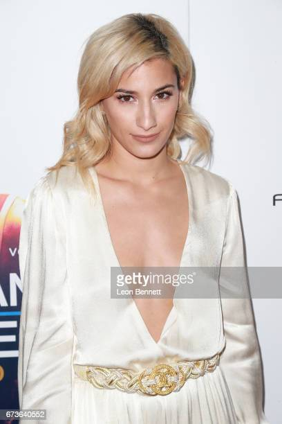 Music artist/actress Lexy Panterra attends the Premiere Of Warner Bros Home Entertainment's 'American Wrestler The Wizard' at Regal LA Live Stadium...