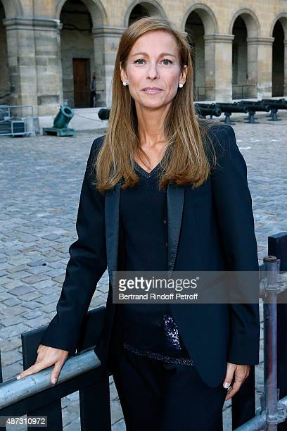 Music Booking of the Opera Anne Gravoin attends 'La Traviata' Opera en Plein Air produced by Benjamin Patou and 'Moma Event' Held at Hotel Des...