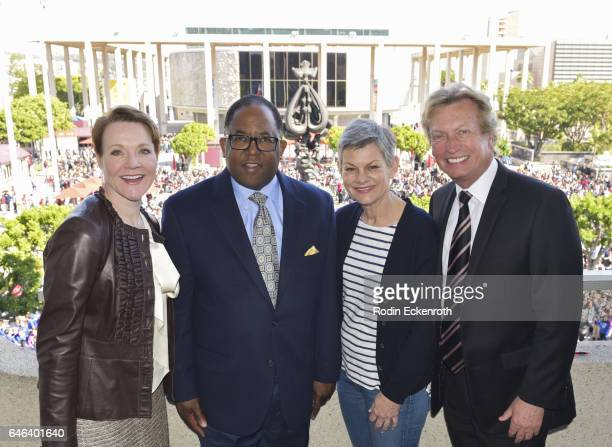 Music Center President/CEO Rachel Moore LA County Board of Supervisors 2nd District Mark Ridley Thomas Blue Ribbon President Jill Baldauf and TV...