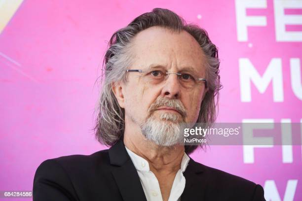 Music composer Jan AP Kaczmarek during the opening press conference of 10 edition of the annual Film Music Festival in Krakow Poland 17 May 2017...