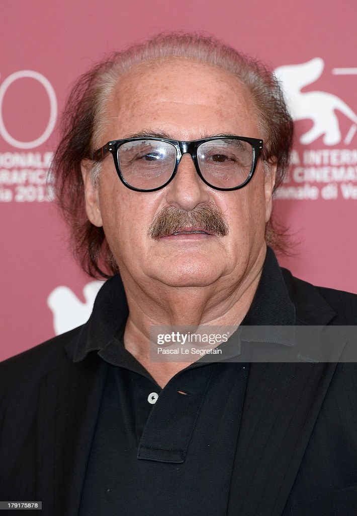Music composer Pino Donaggio attends the 'Non Eravamo Solo... Ladri Di Biciclette' Photocall during the 70th Venice International Film Festival at the Palazzo del Casino on September 1, 2013 in Venice, Italy.