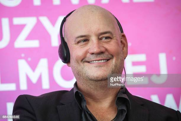 Music composer Trevor Morris during the opening press conference of 10 edition of the annual Film Music Festival in Krakow Poland 17 May 2017...