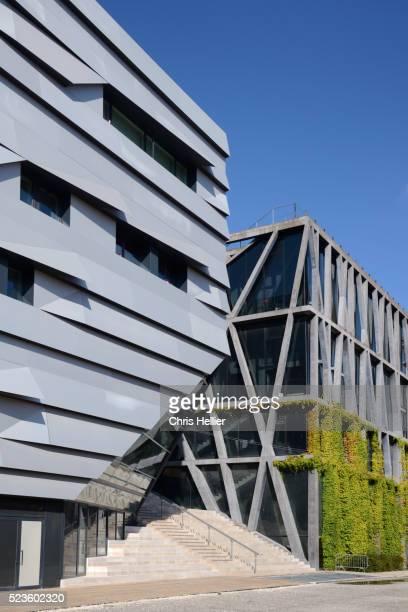 Music Conservatory by Kengo Kuma & Pavillon Noir by Rudy Ricciotti Aix-en-Provence