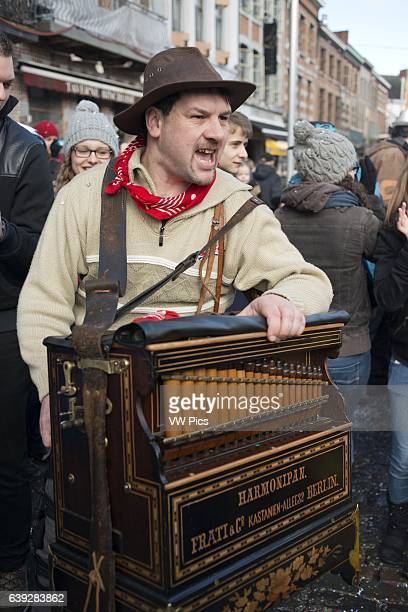 Music dance party and costumes in Binche Carnival Ancient and representative cultural event of Wallonia Belgium The carnival of Binche is an event...