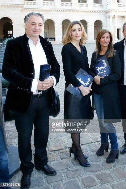 Music Direction of the Opera Yannis Pouspourikas Stage Director of the Opera Julie Gayet and Music Booking Orchestra of the Opera Anne Gravoin attend...