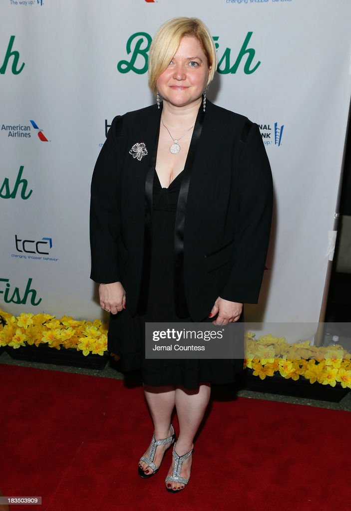 Music director Mary-Mitchell Campbell attends the 'Big Fish' Broadway Opening Night After Party at Roseland Ballroom on October 6, 2013 in New York City.