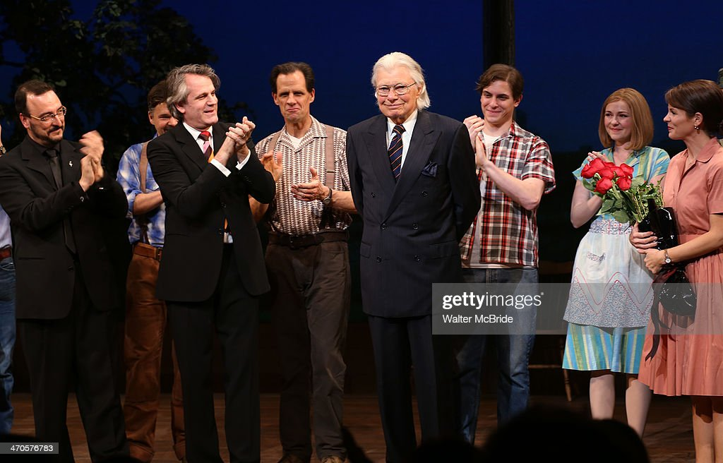 """Author Robert James Waller """"The Bridges Of Madison County"""" - Arrivals And Curtain Call"""