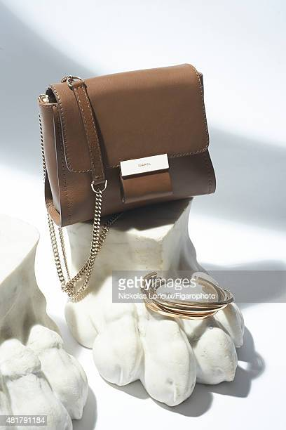 Music Duo Brigitte's style inspirations are photographed on March 5 2015 in Paris France Bag bracelet PUBLISHED IMAGE CREDIT MUST READ Nickolas...