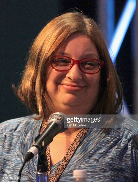 Music editor Shirley Halperin speaks onstage at 'When to Tune Out the Trainwreck' during the 2014 SXSW Music Film Interactive Festival at Austin...