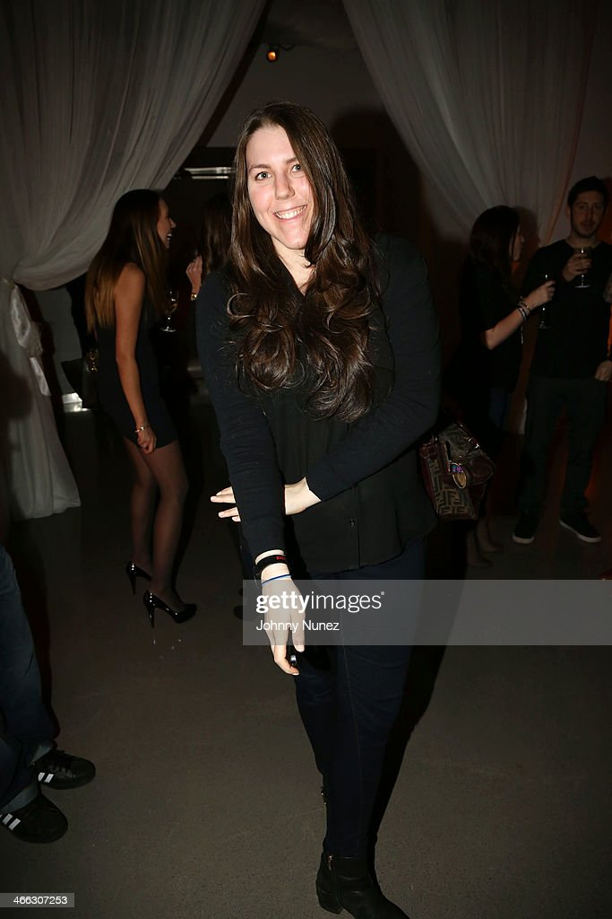 Music executive Jenna Rubenstein attends the Just Ivy Private Showcase at The Glasshouses on January 31, 2014 in New York City.