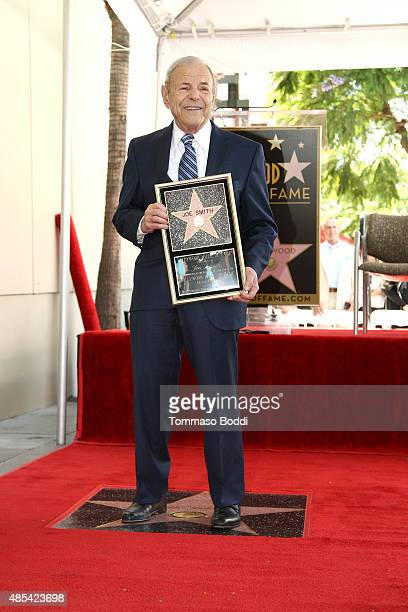 Music executive Joe Smith is honored with star on The Hollywood Walk of Fame on August 27 2015 in Hollywood California