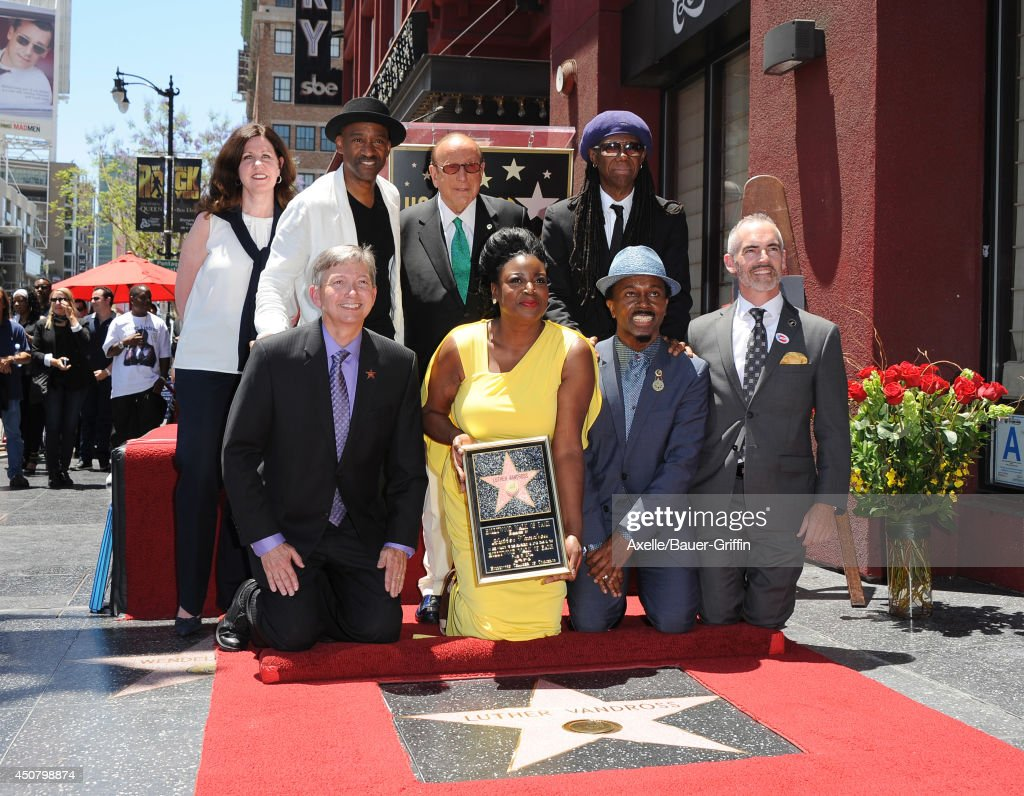 Music executive Maureen Schultz jazz composer Marcus Miller Hollywood Chamber of Commerce president CEO Leron Gubler music executive Clive Davis...