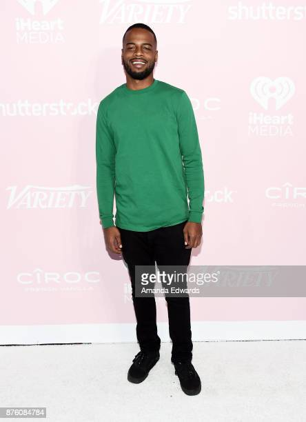Music executive Noah Preston arrives at Variety's 1st Annual Hitmakers Luncheon at Sunset Tower on November 18 2017 in Los Angeles California