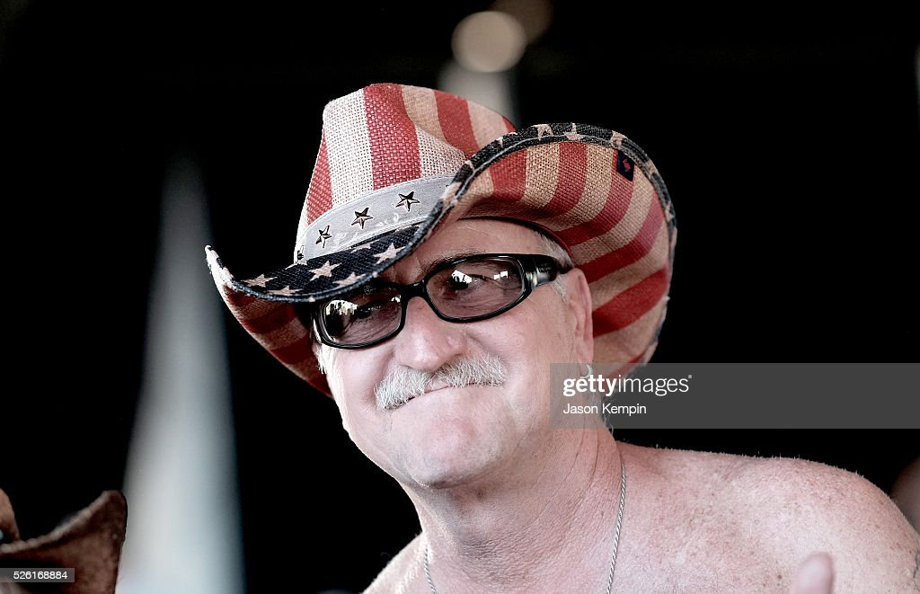 Music fan attends the performance of Aubrie Sellers during 2016 Stagecoach California's Country Music Festival at Empire Polo Club on April 29, 2016 in Indio, California.