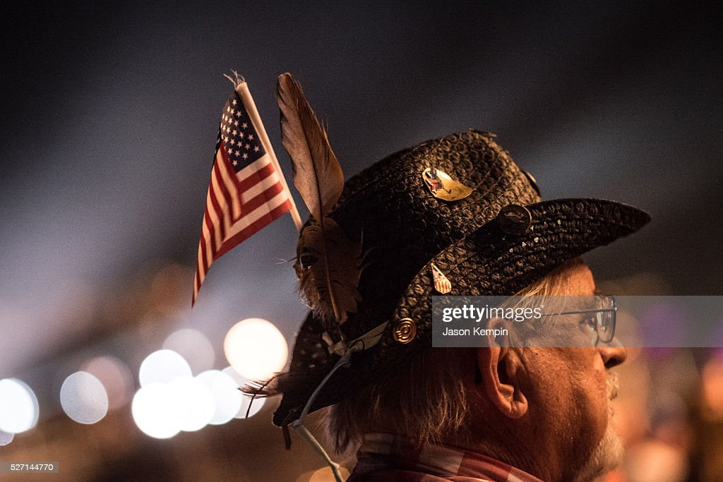 A music fan during 2016 Stagecoach California's Country Music Festival at Empire Polo Club on May 01, 2016 in Indio, California.