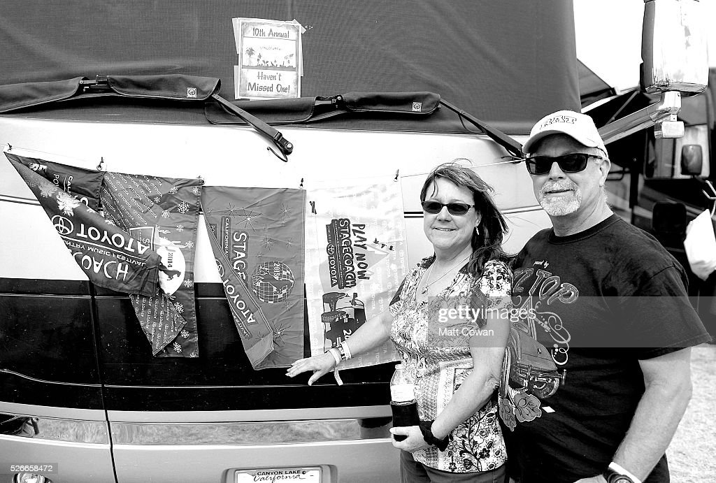 Music fans attend 2016 Stagecoach California's Country Music Festival at Empire Polo Club on April 30, 2016 in Indio, California.
