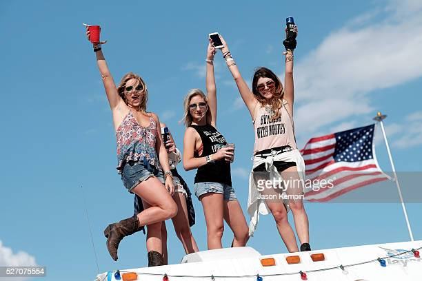 Music fans attend 2016 Stagecoach California's Country Music Festival at Empire Polo Club on May 01 2016 in Indio California