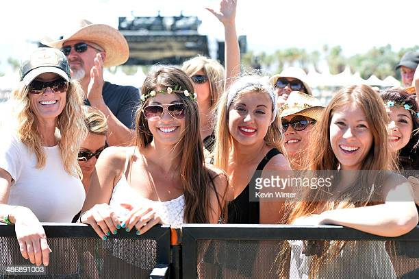 Music fans attend day 2 of 2014 Stagecoach California's Country Music Festival at the Empire Polo Club on April 26 2014 in Indio California
