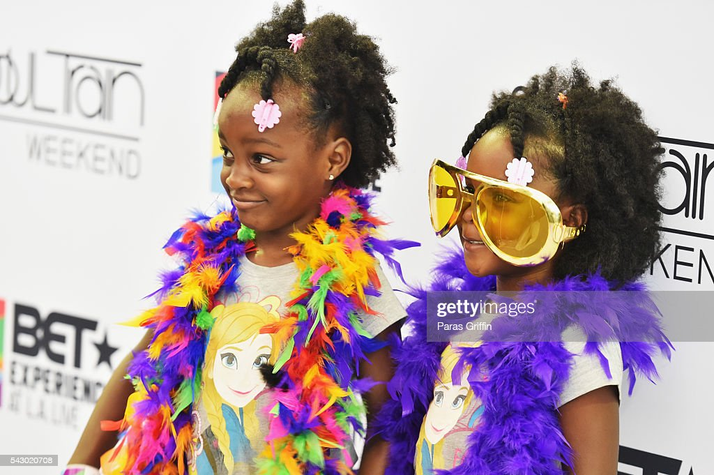 Music fans attend FAN FEST during the 2016 BET Experience on June 25, 2016 in Los Angeles, California.