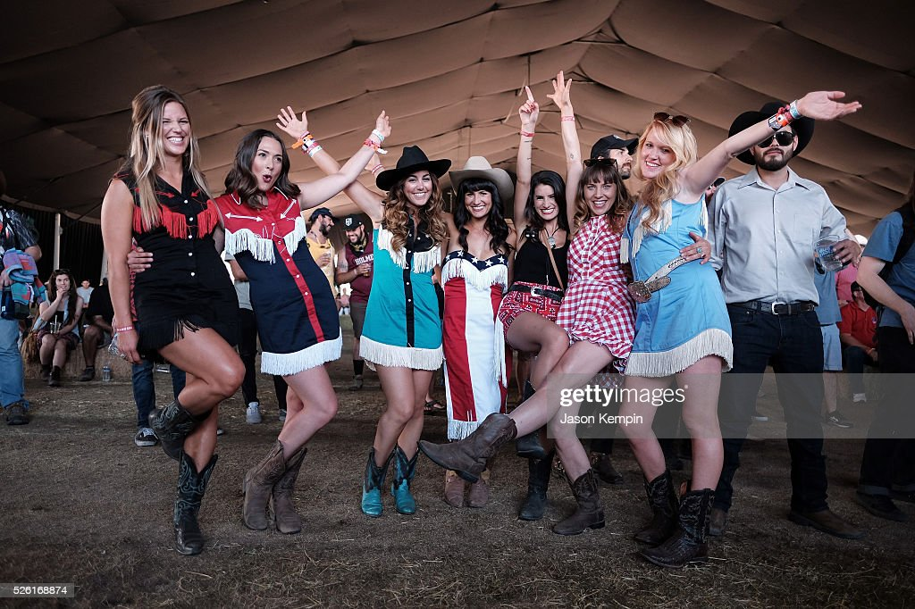 Music fans attend the performance of Aubrie Sellers during 2016 Stagecoach California's Country Music Festival at Empire Polo Club on April 29, 2016 in Indio, California.