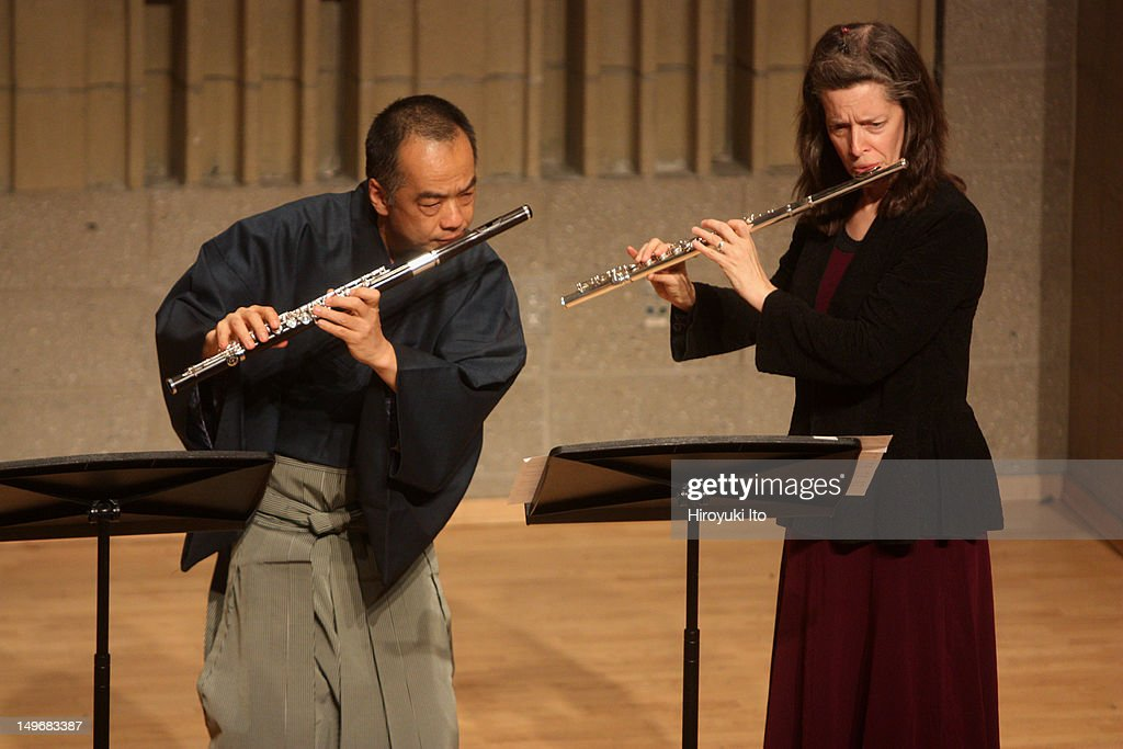 Music from Japan presents 'Flutes From the East and the West' at Baruch Performing Arts Center on Saturday night February 12 2011This imageElizabeth...