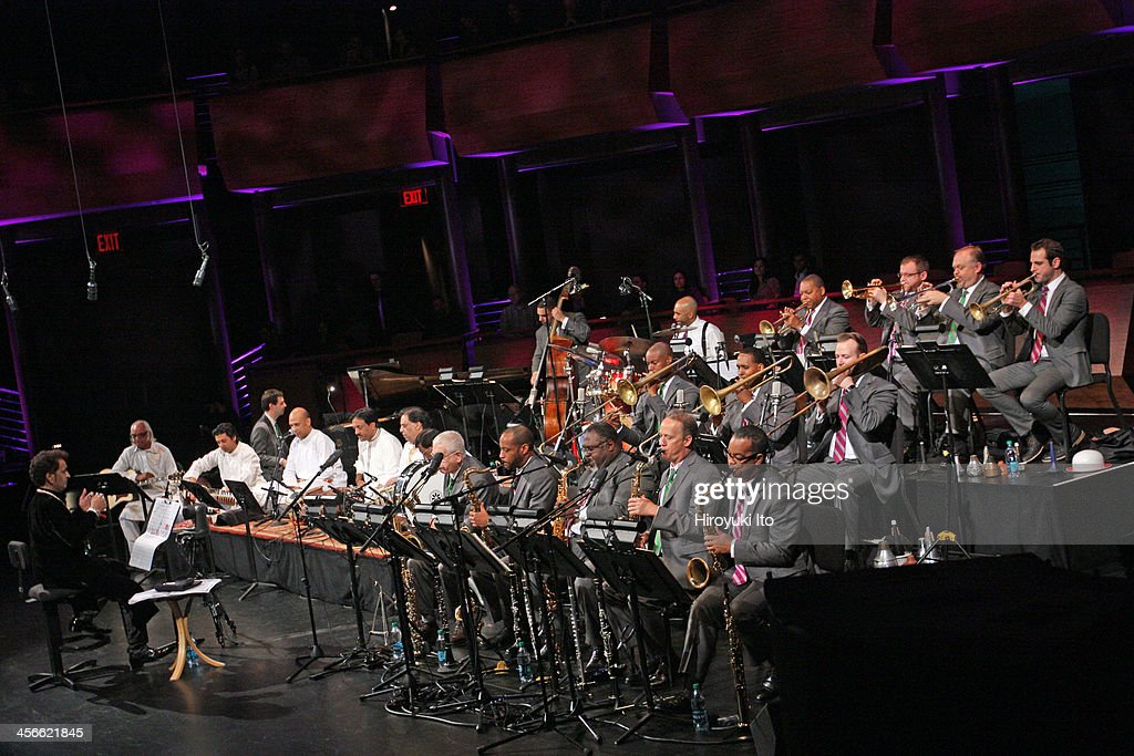 'Music from Pakistan Sachal Jazz Ensemble and the Jazz at Lincoln Center Orchestra with Wynton Marsalis' at Rose Theater on Saturday night November...
