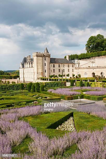 Music Garden Of The Chateau De Villandry Villandry IndreEtLoire France
