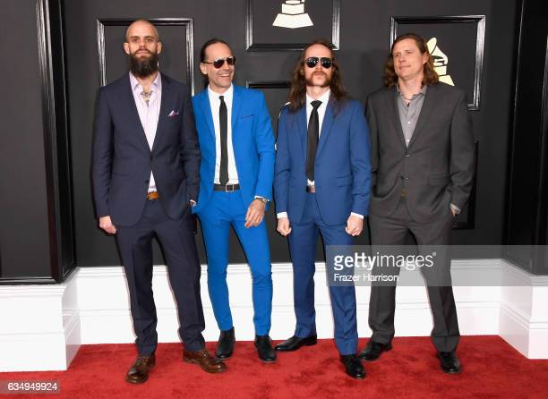 Music group Baroness attends The 59th GRAMMY Awards at STAPLES Center on February 12 2017 in Los Angeles California