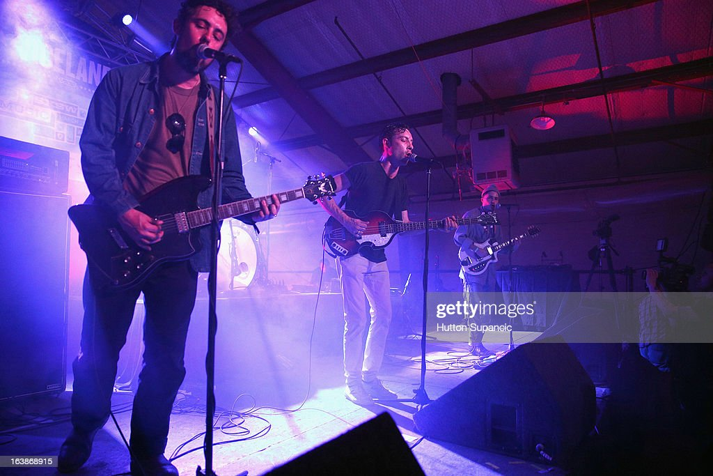 Music group Black Lips performs onstage at the VICE Kills TX Music Showcase during the 2013 SXSW Music, Film + Interactive Festival at Viceland on March 16, 2013 in Austin, Texas.