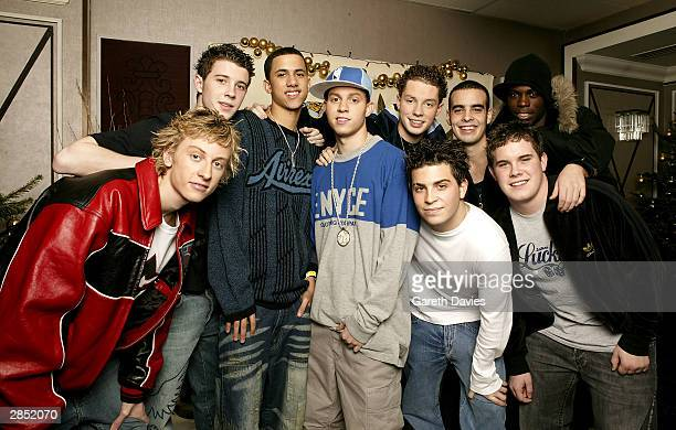 Music group Blazin Squad attend The Great Ormond Street Hospital Charity Fundraiser on December 14 2003 at the Grosvenor House Hotel in London