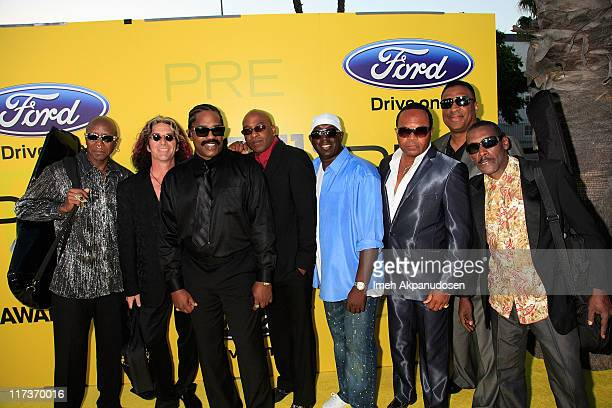 Music group Cameo attends BET network's 5th annual preBET awards celebration dinner at Book Bindery on June 25 2011 in Los Angeles California