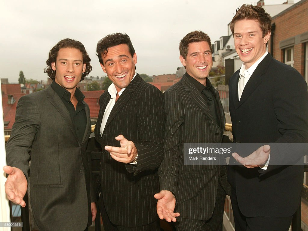 Il divo pose for portraits in brussels getty images - Il divo music ...