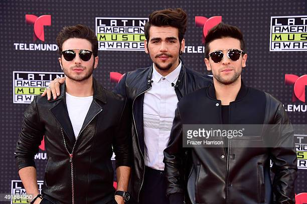 Music group Il Volo attends Telemundo's Latin American Music Awards at the Dolby Theatre on October 8 2015 in Hollywood California