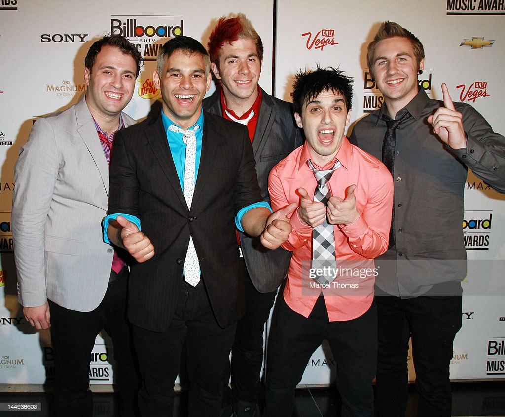 Music group Patent Pending attend the 2012 Billboard Music Awards Oficial After-party at 1 Oak on May 20, 2012 in Las Vegas, Nevada.
