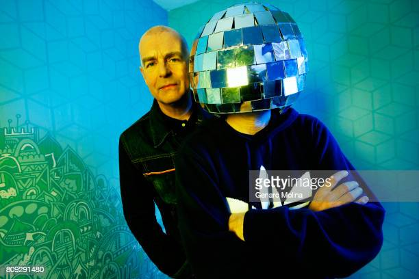 Music group Pet Shop Boys are photographed for Los Angeles Times on October 9 2013 in Santa Monica California PUBLISHED IMAGE CREDIT MUST READ Genaro...