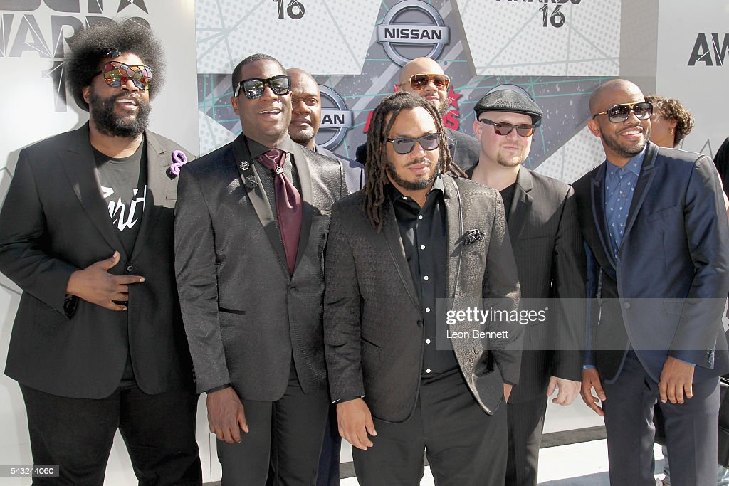 Music group The Roots attend attend the Make A Wish VIP Experience at the 2016 BET Awards on June 26, 2016 in Los Angeles, California.