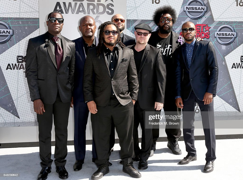 Music group The Roots attend the 2016 BET Awards at the Microsoft Theater on June 26, 2016 in Los Angeles, California.