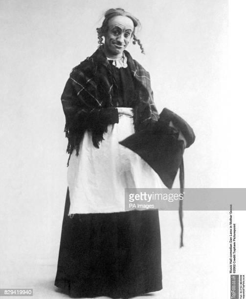 Music Hall comedian Dan Leno in Mother Goose Drury Lane 1902