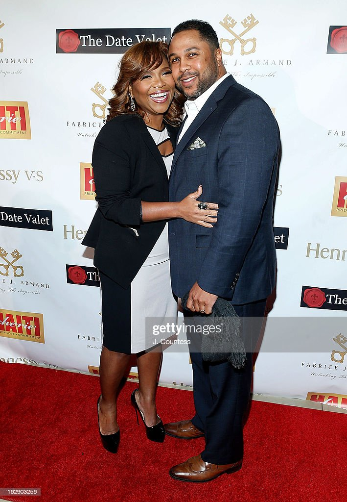 Music industry executive Mona Scott-Young and Shawn Young attend the 3rd Annual