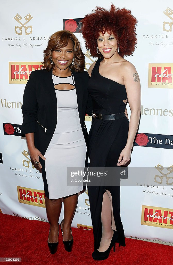 Music industry executive Mona Scott-Young and singer Brianna Colette attend the 3rd Annual