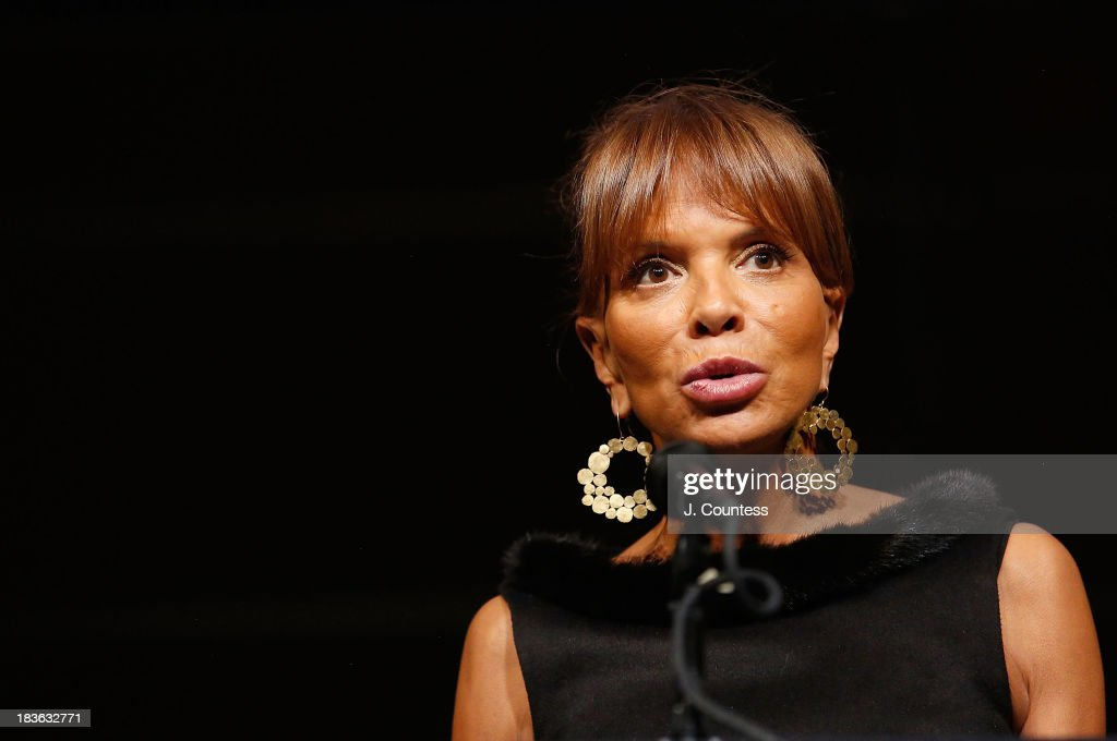 Music Industry executive Sylvia Rhone speaks at the Triumph Award during The 4th Annual Triumph Awards at Rose Theater, Jazz at Lincoln Center on October 7, 2013 in New York City.
