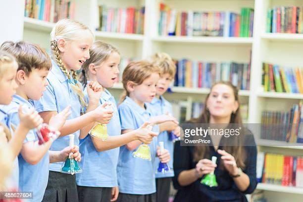 Musique leçon à l'école, Royaume-Uni