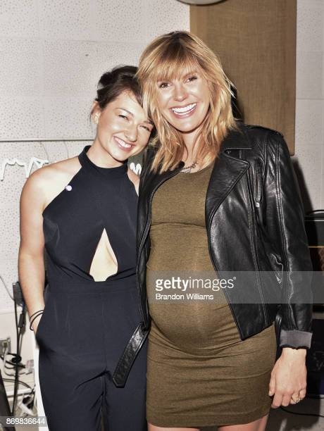 Music manager Alison Tavel and musician Grace Potter attend the unveiling for the 'Resynator' at Sound City Studios on November 2 2017 in Van Nuys...
