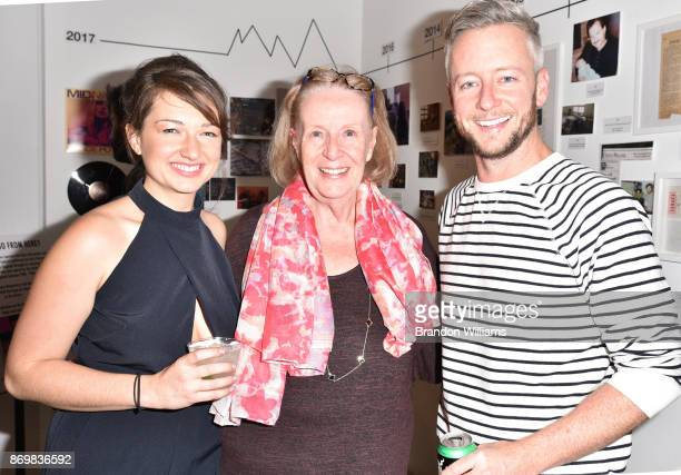 Music Manager Alison Tavel with guests at the unveling for the 'Resynator' hosted by Grace Parker at Sound City Studios on November 2 2017 in Van...