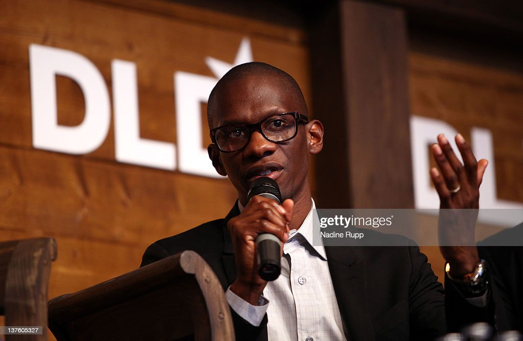Music manager Troy Carter, founder, Chairman and CEO of Atom Factory, speaks during the Digital Life Design conference (DLD) at HVB Forum on January 23, 2012 in Munich, Germany. DLD (Digital - Life - Design) is a global conference network on innovation, digital, science and culture which connects business, creative and social leaders, opinion-formers and investors for crossover conversation and inspiration.