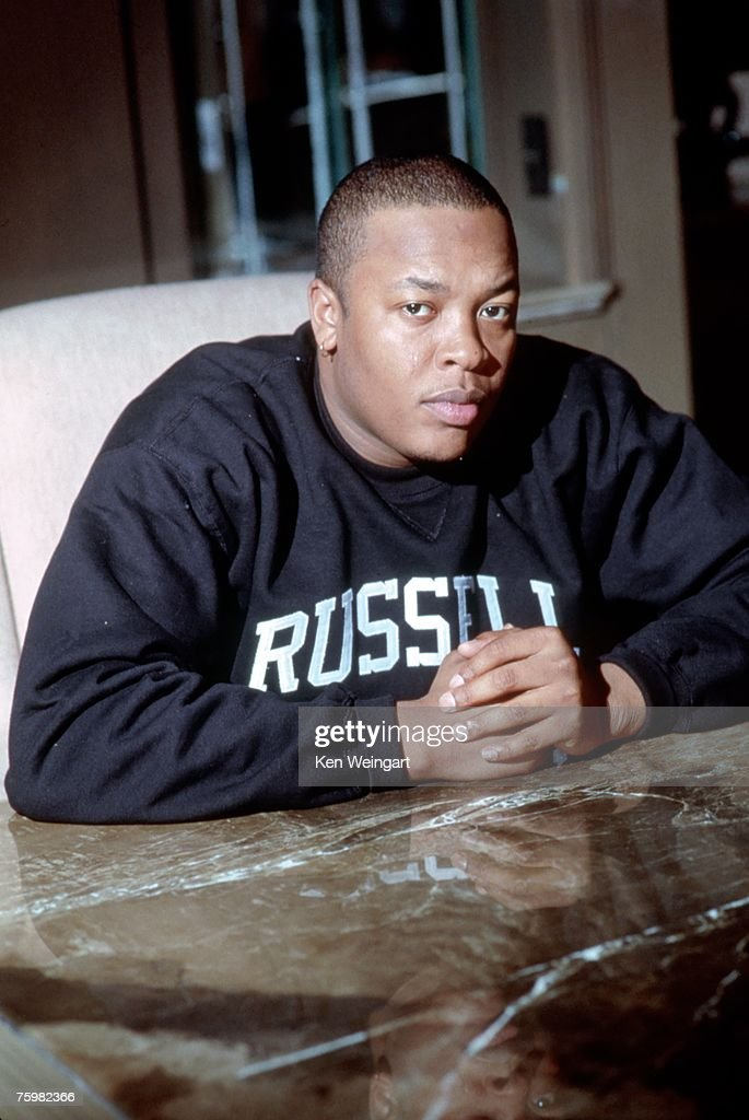 Music mogul Dr. Dre poses for a portait in 2001 in New York City, New York.