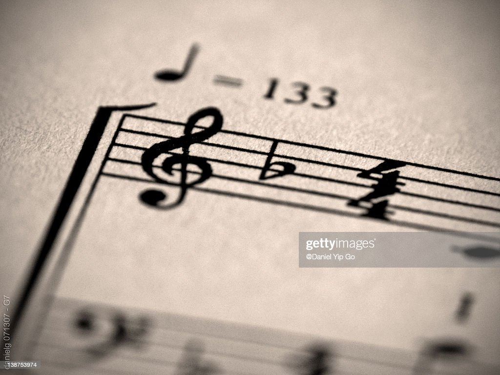 Music notes : Stock Photo
