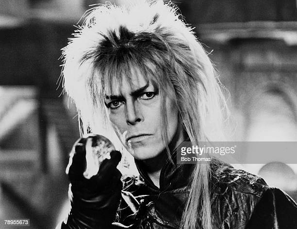 circa 1986 British pop star David Bowie as he appeared in the fantasy adventure production 'Labyrinth'